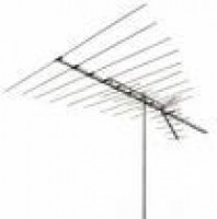 broadband off-air antenna pointing left