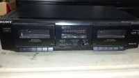 Sony TC-WE305 dual tape deck-Used
