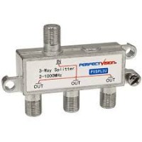 Perfect Vision 3-Way TV Splitter