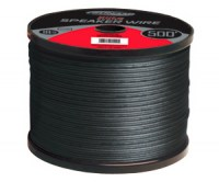 TSUNAMI 50' Spool 18AWG Speaker Wire, Black